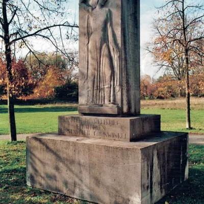 Das Kriegerdenkmal der Grünwinkler