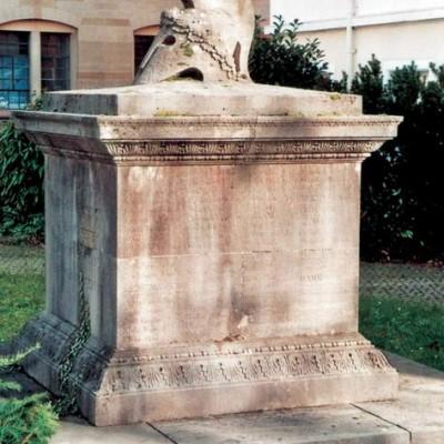Das Denkmal für die Gefallenen der Sinner AG