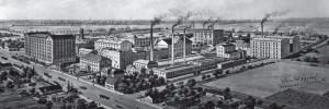 Gesamtansicht der Firma Sinner, 1897.