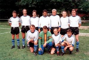 Die 1. Mannschaft des FSV Hardeck 1973.