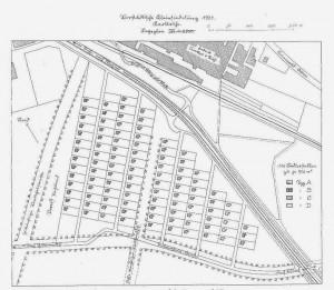 Hardecksiedlung - Planung aus dem Jahr 1931.