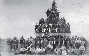 Richtfest 1935.