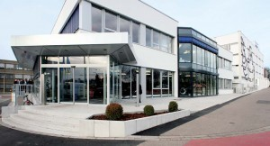 Die Deutschlandzentrale des Michelin-Konzerns in Grünwinkel.