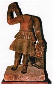 Statue der Diana Abnoba.