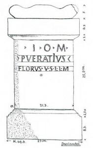 Altar des Iupiter Optimus Maximus.
